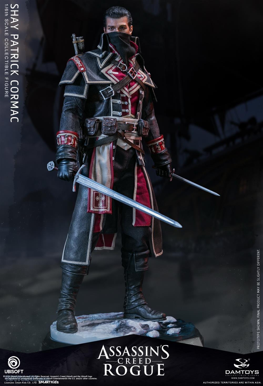 male - NEW PRODUCT: DAMTOYS: Assassins Creed Rogue - 1/6th scale Shay Patrick Cormac Collectible Figure 82220110