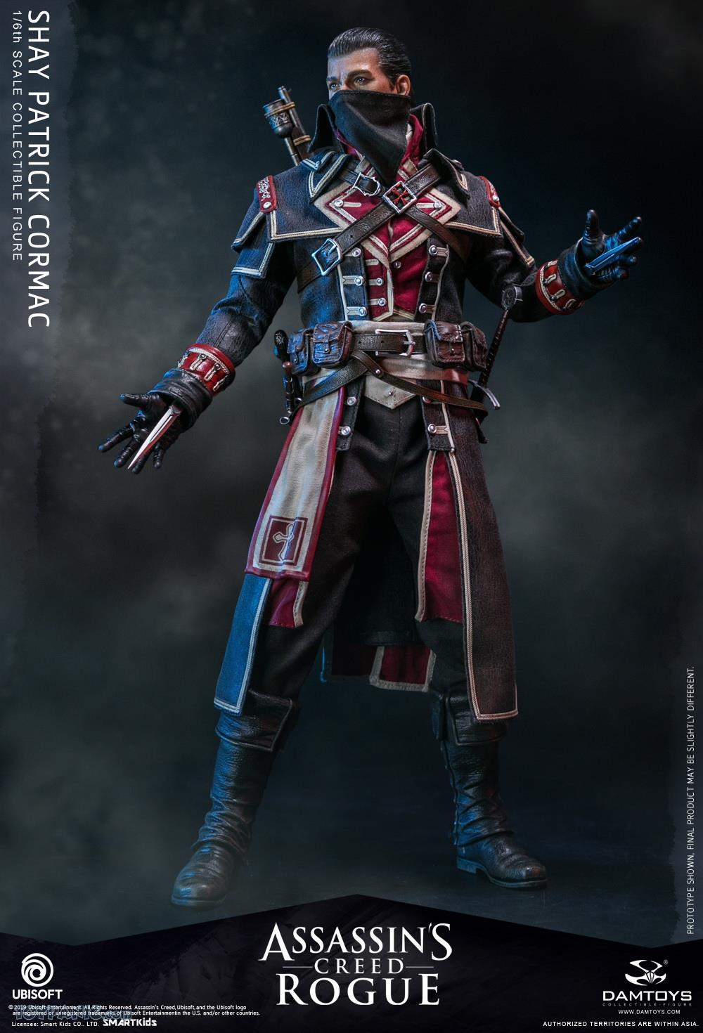 male - NEW PRODUCT: DAMTOYS: Assassins Creed Rogue - 1/6th scale Shay Patrick Cormac Collectible Figure 82220111