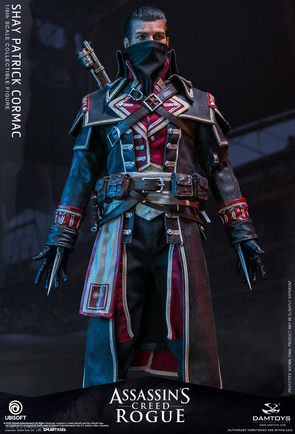male - NEW PRODUCT: DAMTOYS: Assassins Creed Rogue - 1/6th scale Shay Patrick Cormac Collectible Figure 82220112