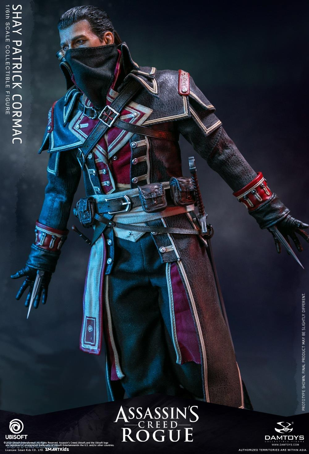 male - NEW PRODUCT: DAMTOYS: Assassins Creed Rogue - 1/6th scale Shay Patrick Cormac Collectible Figure 82220113