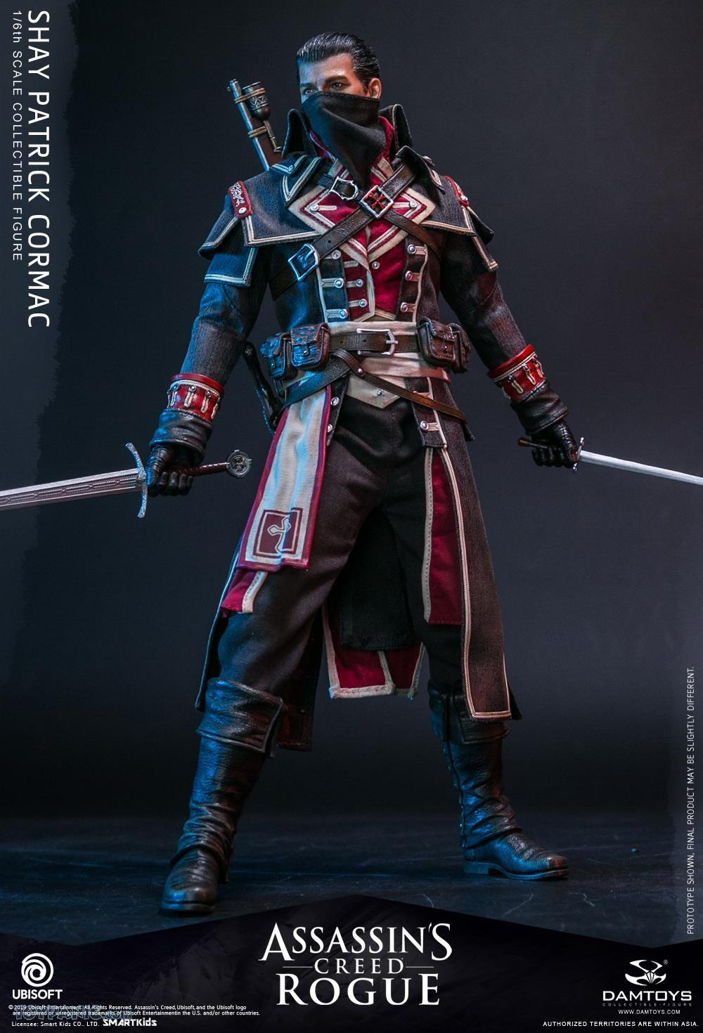 male - NEW PRODUCT: DAMTOYS: Assassins Creed Rogue - 1/6th scale Shay Patrick Cormac Collectible Figure 82220114