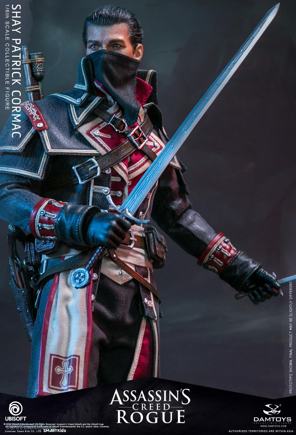 male - NEW PRODUCT: DAMTOYS: Assassins Creed Rogue - 1/6th scale Shay Patrick Cormac Collectible Figure 82220115