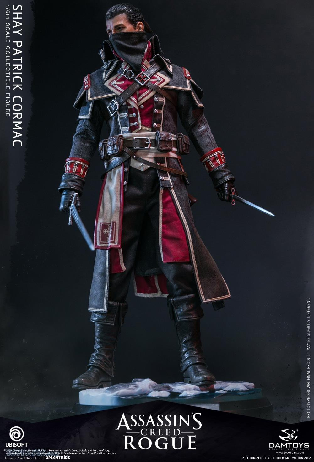 male - NEW PRODUCT: DAMTOYS: Assassins Creed Rogue - 1/6th scale Shay Patrick Cormac Collectible Figure 82220116