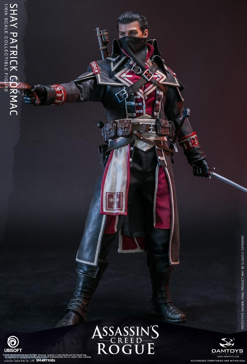 male - NEW PRODUCT: DAMTOYS: Assassins Creed Rogue - 1/6th scale Shay Patrick Cormac Collectible Figure 82220117
