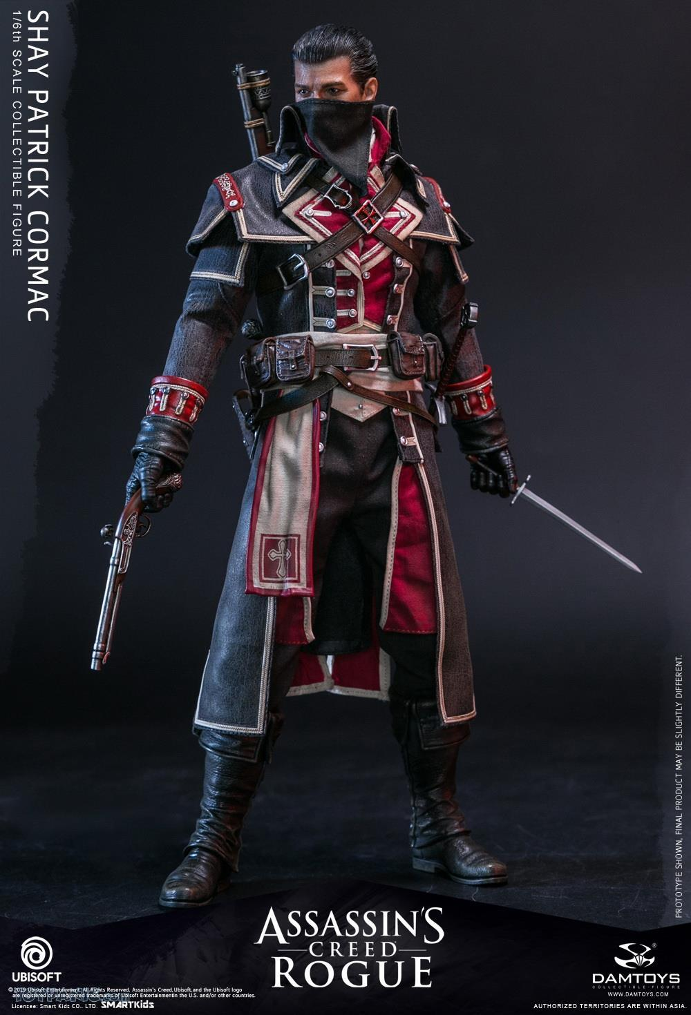 male - NEW PRODUCT: DAMTOYS: Assassins Creed Rogue - 1/6th scale Shay Patrick Cormac Collectible Figure 82220118