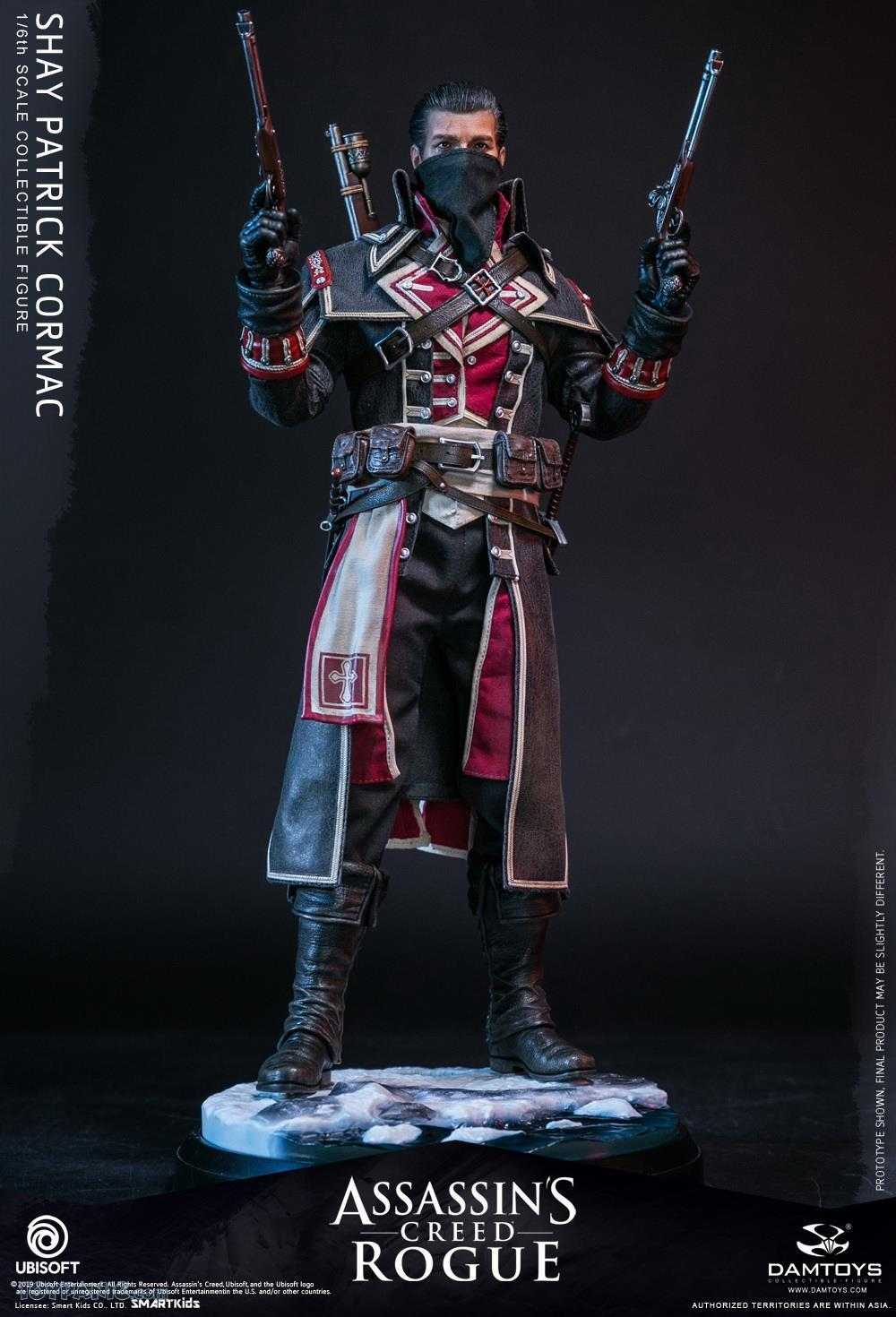 male - NEW PRODUCT: DAMTOYS: Assassins Creed Rogue - 1/6th scale Shay Patrick Cormac Collectible Figure 82220119