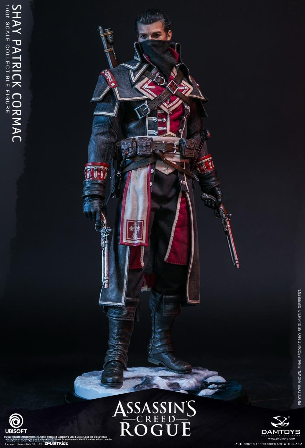 male - NEW PRODUCT: DAMTOYS: Assassins Creed Rogue - 1/6th scale Shay Patrick Cormac Collectible Figure 82220120