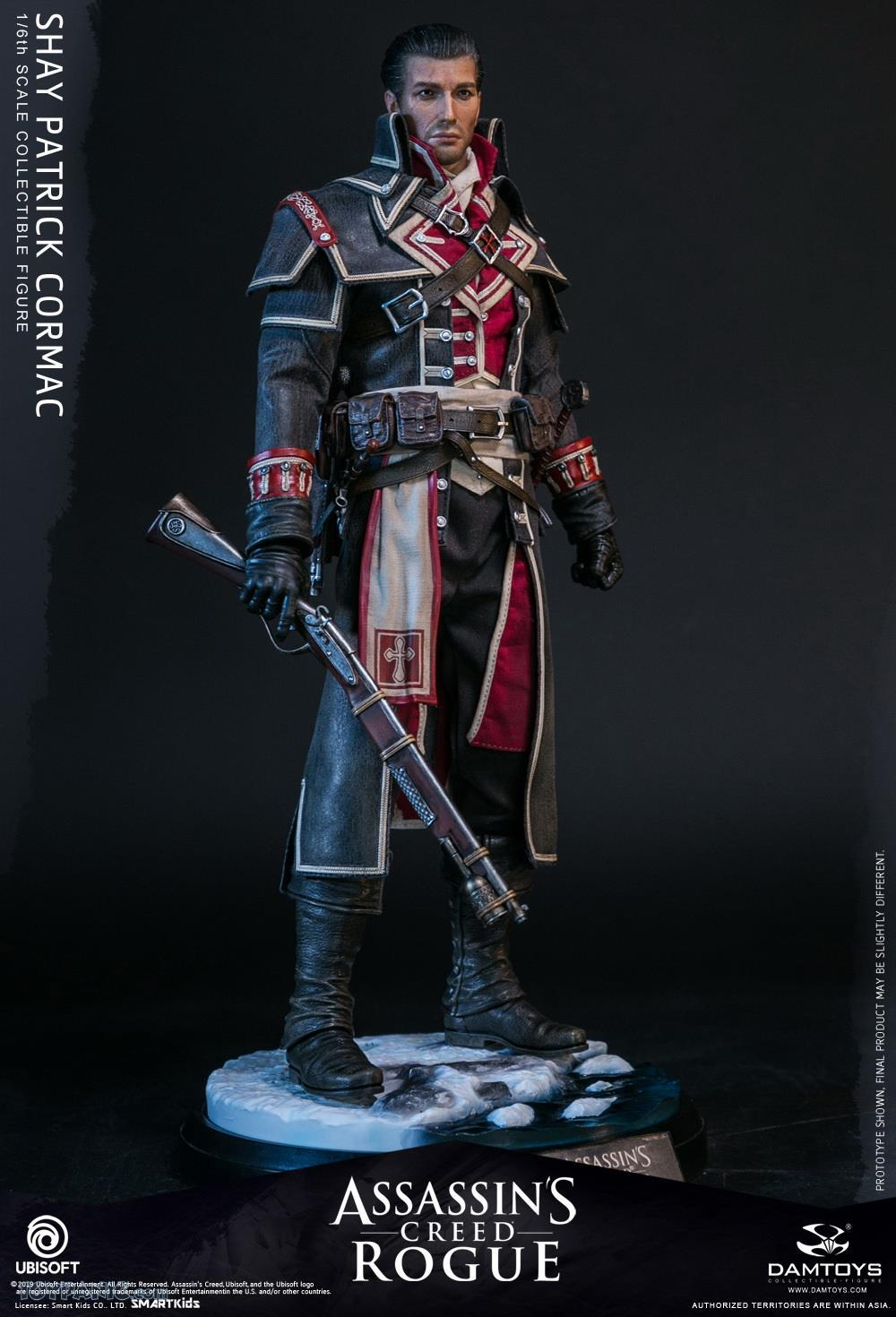 male - NEW PRODUCT: DAMTOYS: Assassins Creed Rogue - 1/6th scale Shay Patrick Cormac Collectible Figure 82220121