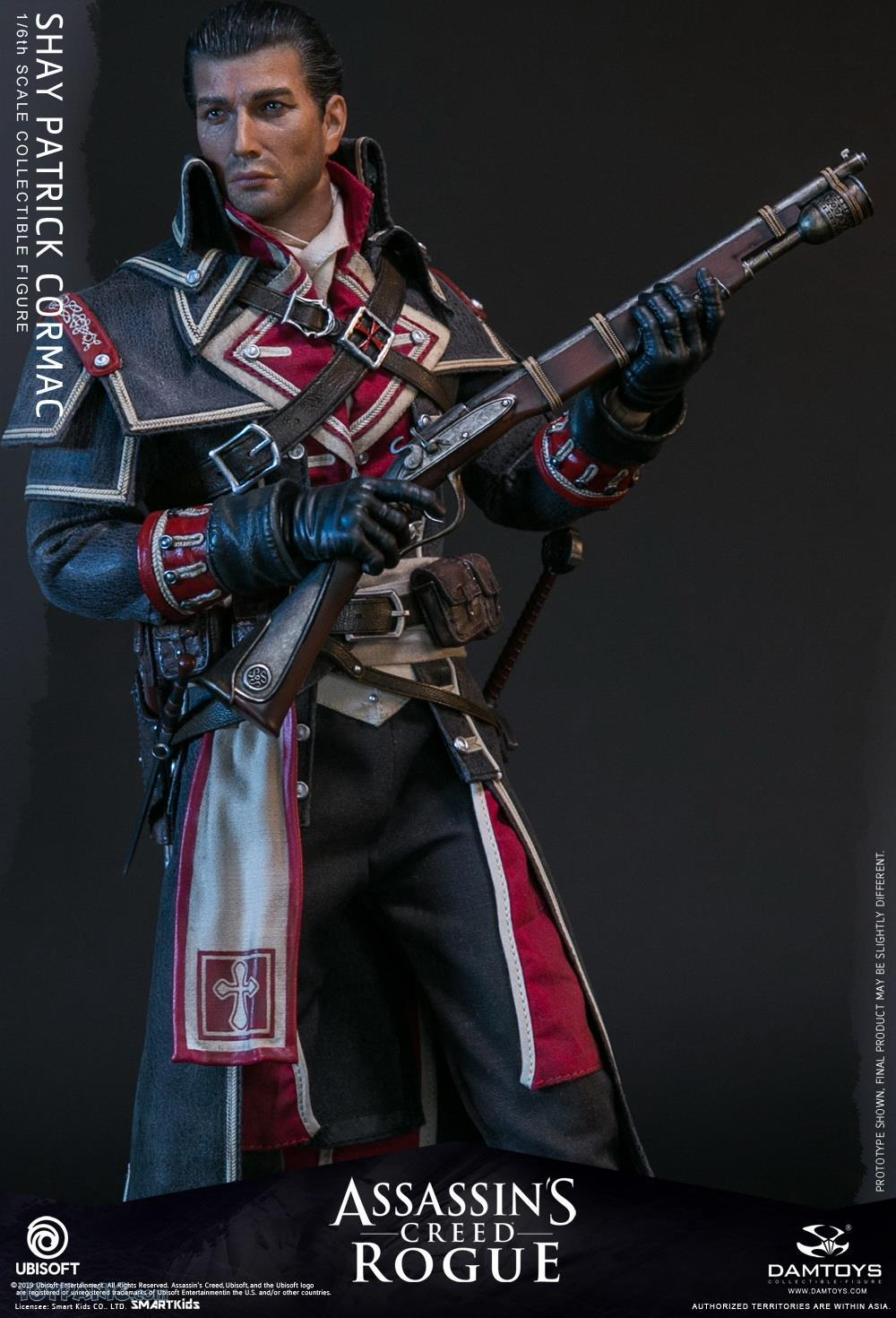 male - NEW PRODUCT: DAMTOYS: Assassins Creed Rogue - 1/6th scale Shay Patrick Cormac Collectible Figure 82220122