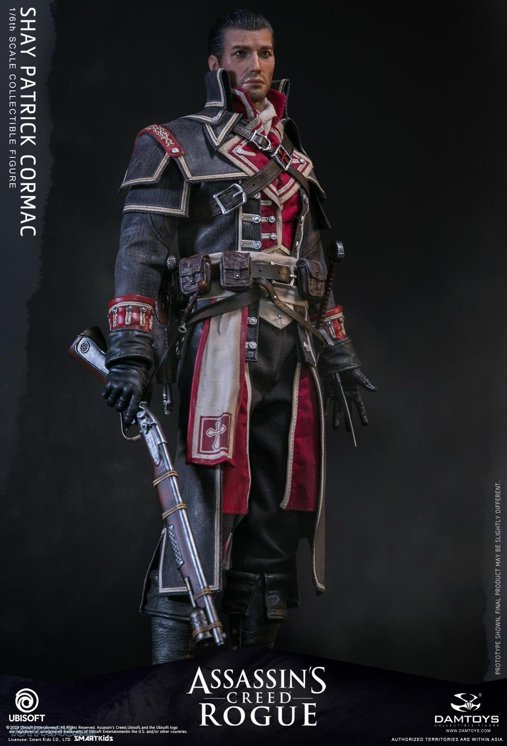 male - NEW PRODUCT: DAMTOYS: Assassins Creed Rogue - 1/6th scale Shay Patrick Cormac Collectible Figure 82220123