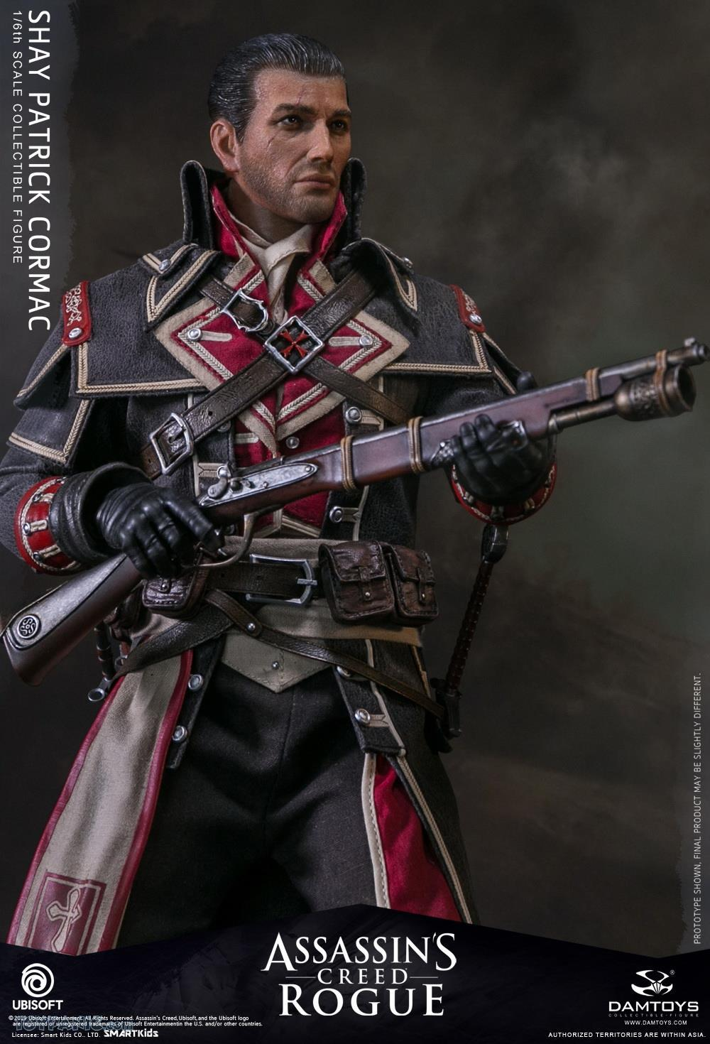 video-game - NEW PRODUCT: DAMTOYS: Assassins Creed Rogue - 1/6th scale Shay Patrick Cormac Collectible Figure 82220124