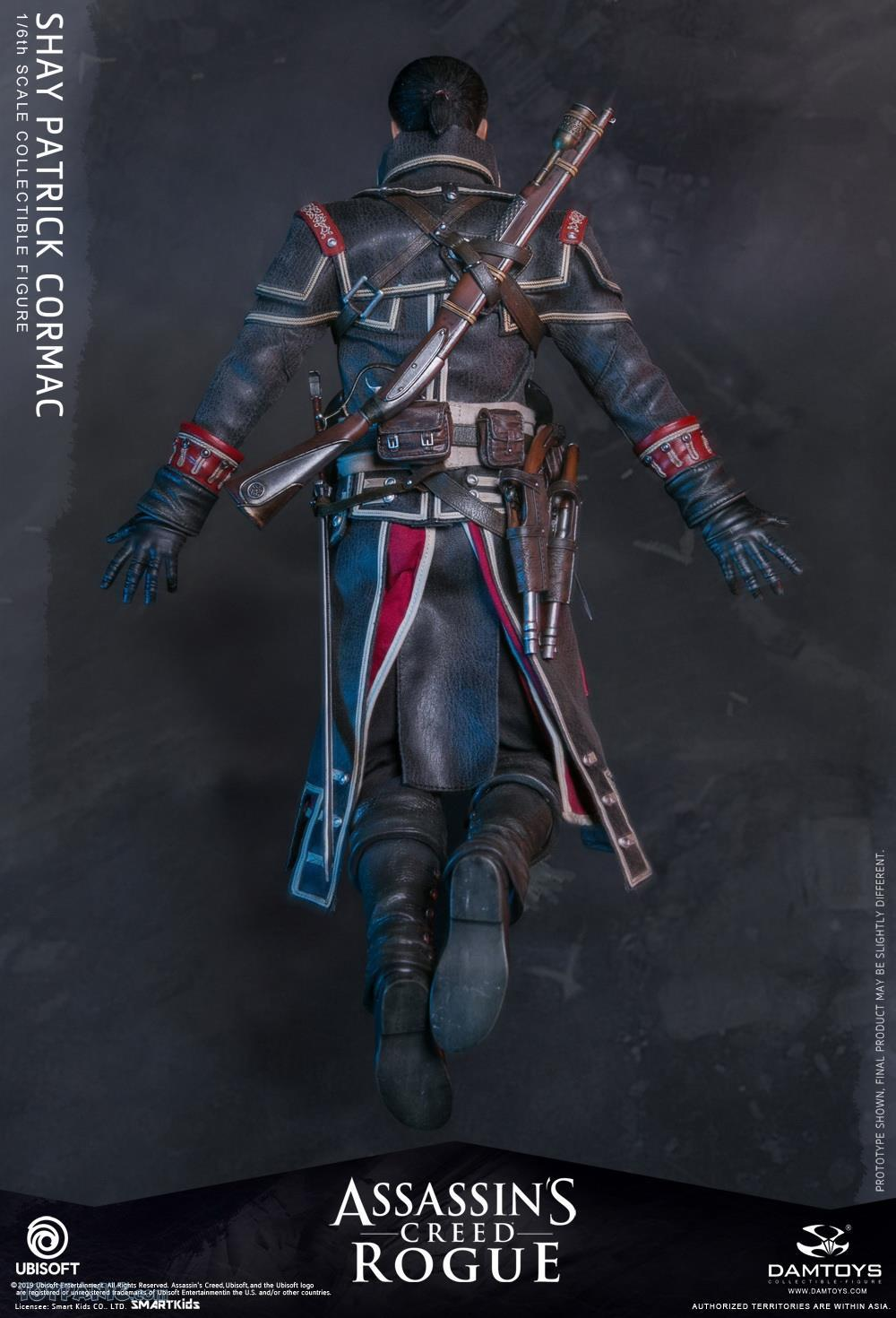video-game - NEW PRODUCT: DAMTOYS: Assassins Creed Rogue - 1/6th scale Shay Patrick Cormac Collectible Figure 82220125