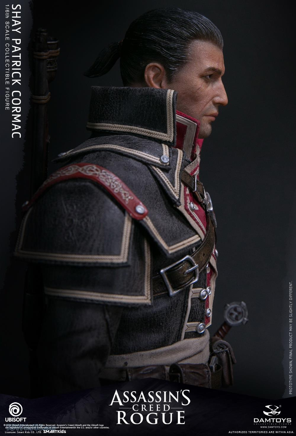 male - NEW PRODUCT: DAMTOYS: Assassins Creed Rogue - 1/6th scale Shay Patrick Cormac Collectible Figure 82220126