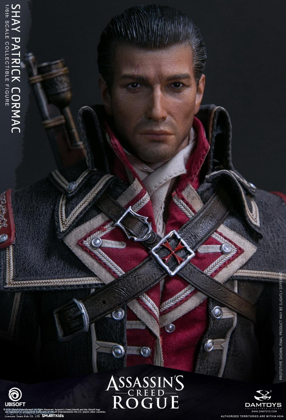 male - NEW PRODUCT: DAMTOYS: Assassins Creed Rogue - 1/6th scale Shay Patrick Cormac Collectible Figure 82220127