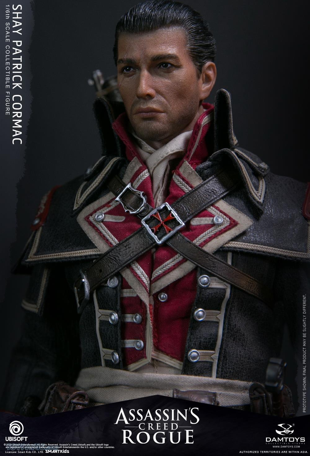 male - NEW PRODUCT: DAMTOYS: Assassins Creed Rogue - 1/6th scale Shay Patrick Cormac Collectible Figure 82220130