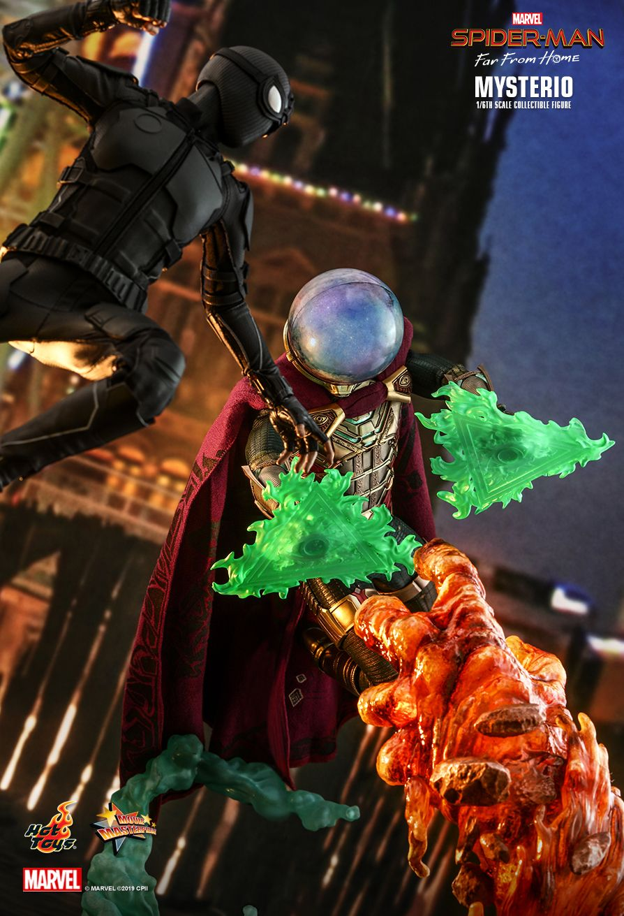 NEW PRODUCT: HOT TOYS: SPIDER-MAN: FAR FROM HOME MYSTERIO 1/6TH SCALE COLLECTIBLE FIGURE 8224