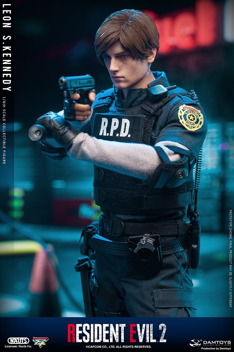 "Sci-Fi - NEW PRODUCT: NAUTS & DAMTOYS: 1/6 ""Resident Evil 2""-LEON S.KENNEDY/Lyon S. Kennedy remake #DMS030  8230bd10"