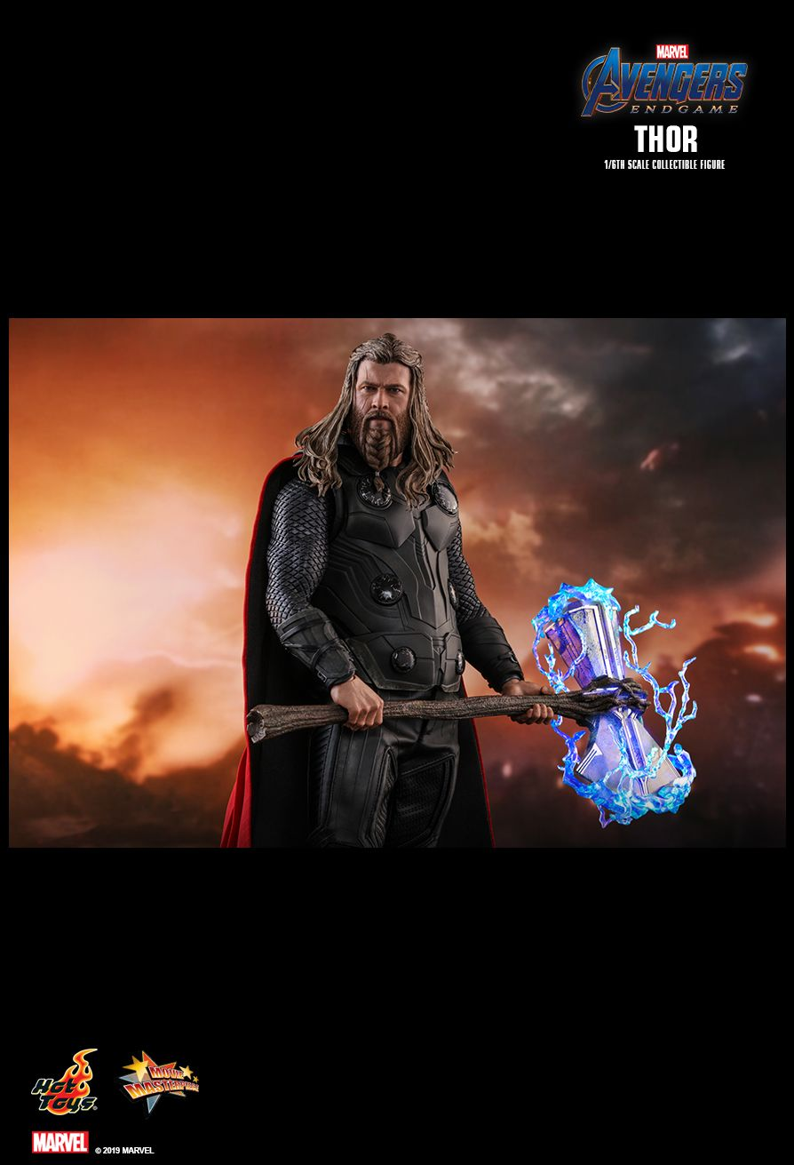 marvel - NEW PRODUCT: HOT TOYS: AVENGERS: ENDGAME THOR 1/6TH SCALE COLLECTIBLE FIGURE 8233