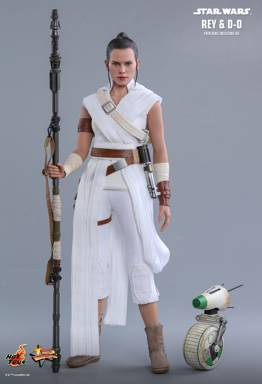 movie - NEW PRODUCT: HOT TOYS: STAR WARS: THE RISE OF SKYWALKER REY AND D-O 1/6TH SCALE COLLECTIBLE FIGURE 8240