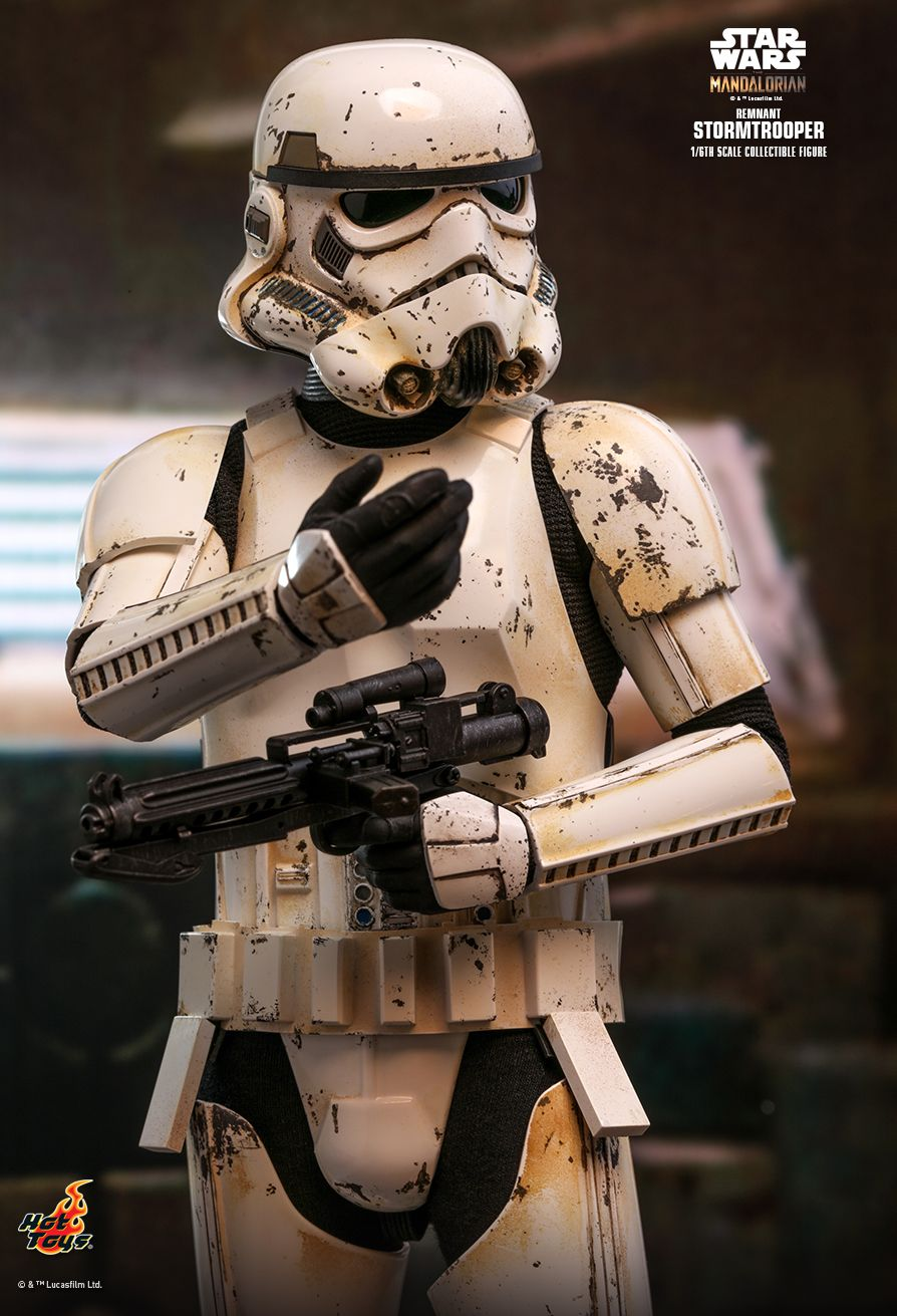 sci-fi - NEW PRODUCT: HOT TOYS: THE MANDALORIAN REMNANT STORMTROOPER 1/6TH SCALE COLLECTIBLE FIGURE 8251