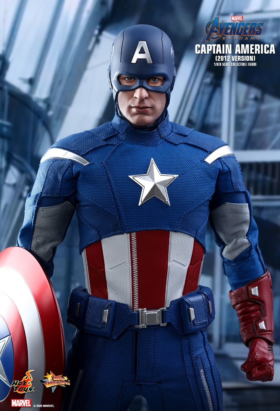 movie - NEW PRODUCT: HOT TOYS: AVENGERS: ENDGAME CAPTAIN AMERICA (2012 VERSION) 1/6TH SCALE COLLECTIBLE FIGURE 8254