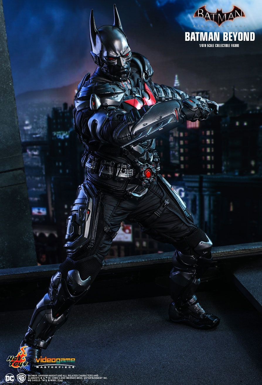 BatmanBeyond - NEW PRODUCT: HOT TOYS: BATMAN: ARKHAM KNIGHT BATMAN BEYOND 1/6TH SCALE COLLECTIBLE FIGURE 8262