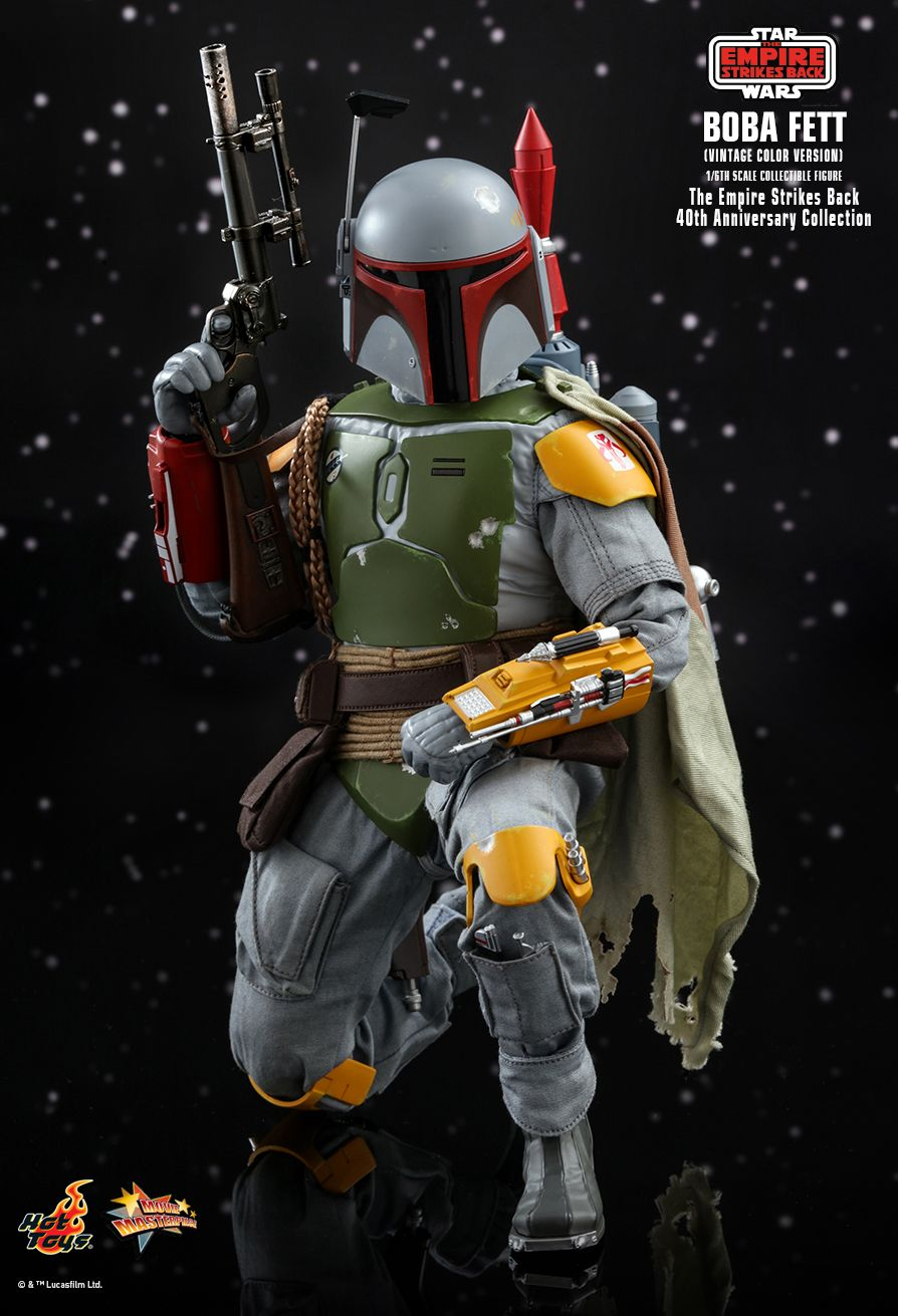 sci-fi - NEW PRODUCT: HOT TOYS: STAR WARS: THE EMPIRE STRIKES BACK™ BOBA FETT™ (VINTAGE COLOR VERSION) (40TH ANNIVERSARY COLLECTION) 1/6TH SCALE COLLECTIBLE FIGURE 8294