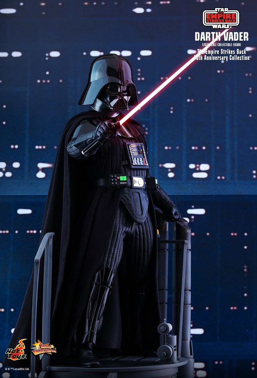 40thAnniversaryCollection - NEW PRODUCT: HOT TOYS: STAR WARS: THE EMPIRE STRIKES BACK™ DARTH VADER™ (40TH ANNIVERSARY COLLECTION) 1/6TH SCALE COLLECTIBLE FIGURE 8295
