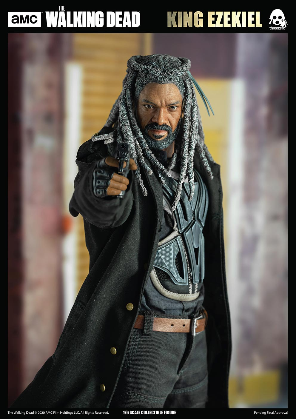 walkingdead - NEW PRODUCT: Threezero: The Walking Dead – 1/6 King Ezekiel 8320