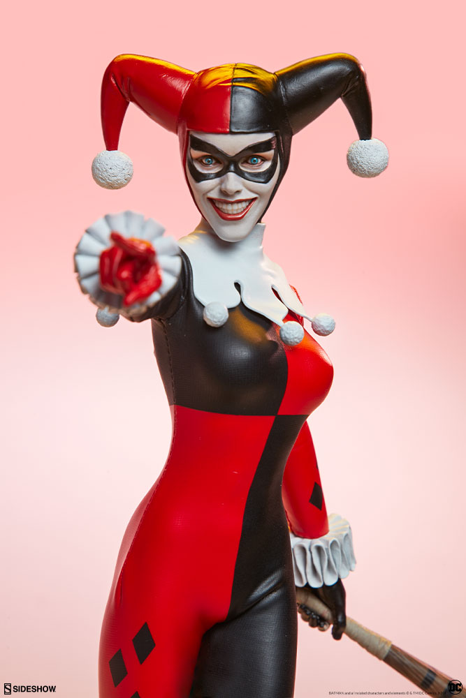 batman - NEW PRODUCT: Sideshow Collectibles: Harley Quinn Sixth Scale Figure 8321