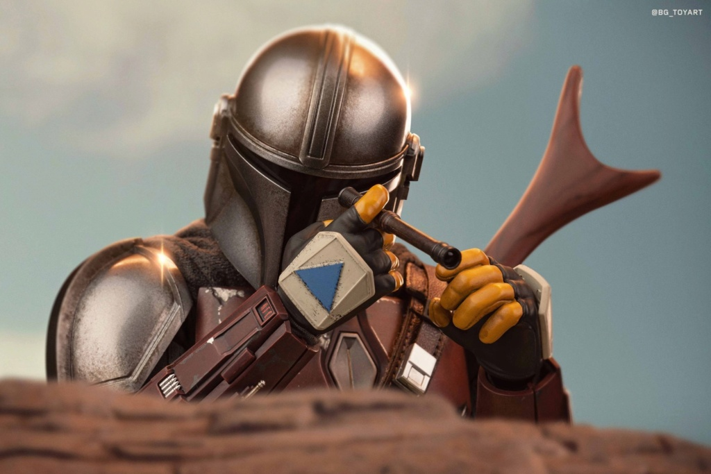 NEW PRODUCT: HOT TOYS: THE MANDALORIAN -- THE MANDALORIAN 1/6TH SCALE COLLECTIBLE FIGURE 8323