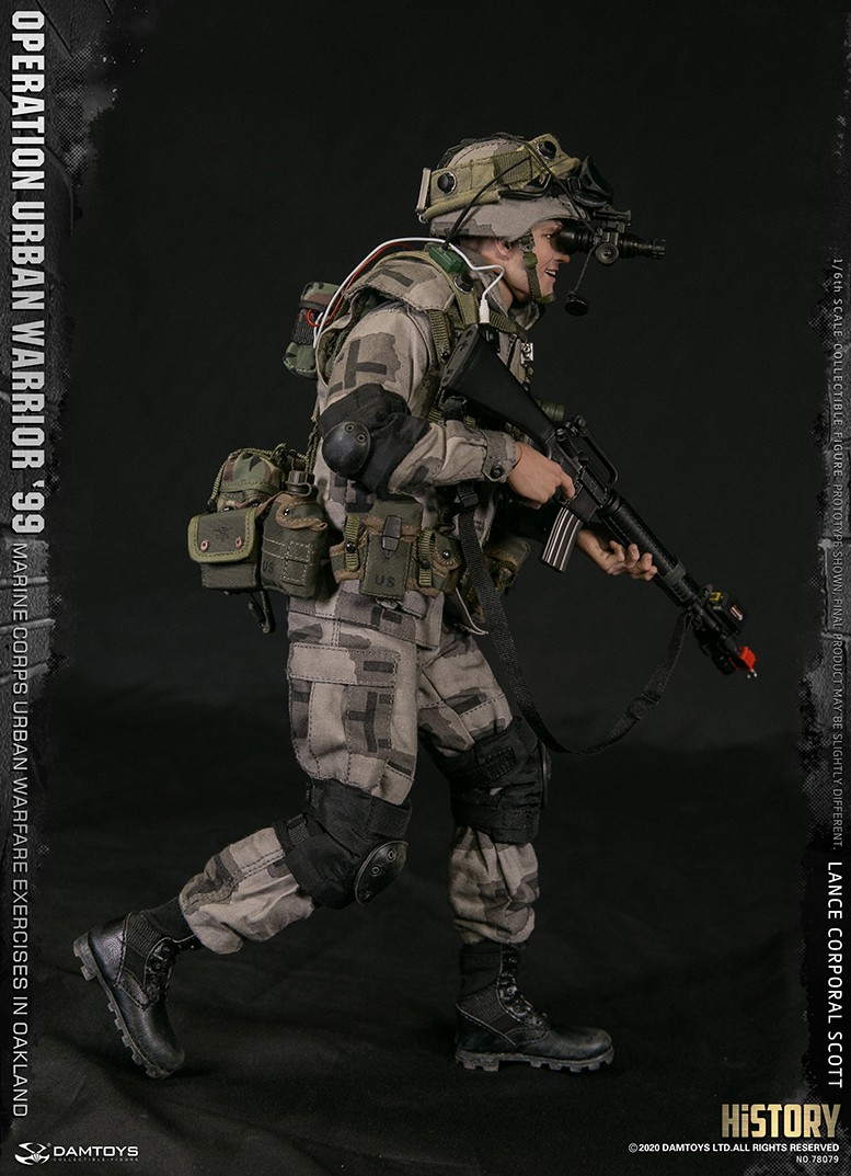 MarineCorps - NEW PRODUCT: DAMToys: 1/6 '99 City Warrior Operation-Marine Corps Oakland City Battle Exercise - Lance Corporal Scott #78079 8327