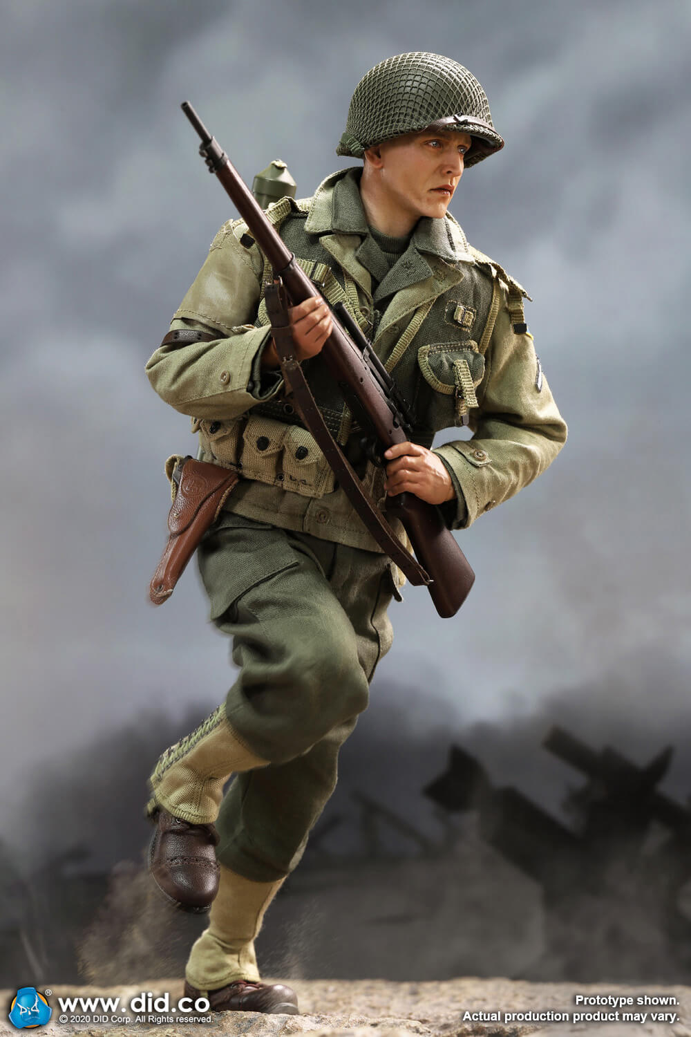 DiD - NEW PRODUCT: DiD: A80144 WWII US 2nd Ranger Battalion Series 4 Private Jackson 8348