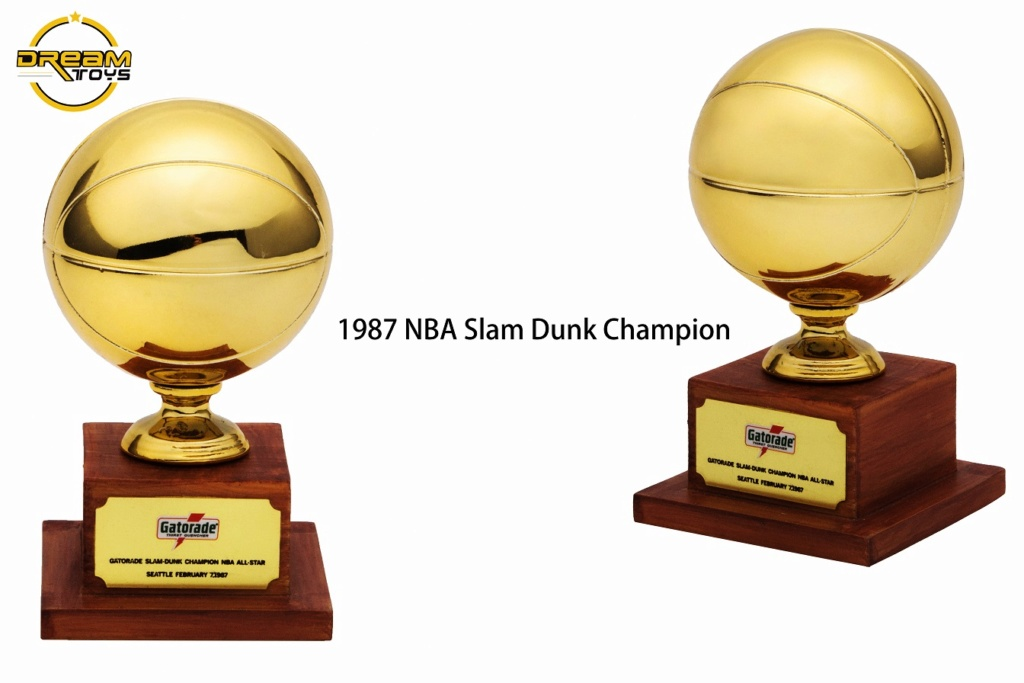 NEW PRODUCT: DREAMTOYS New: 1/6 MJ23 KB24 Jordan / Kobe - Honor Trophy Set 835