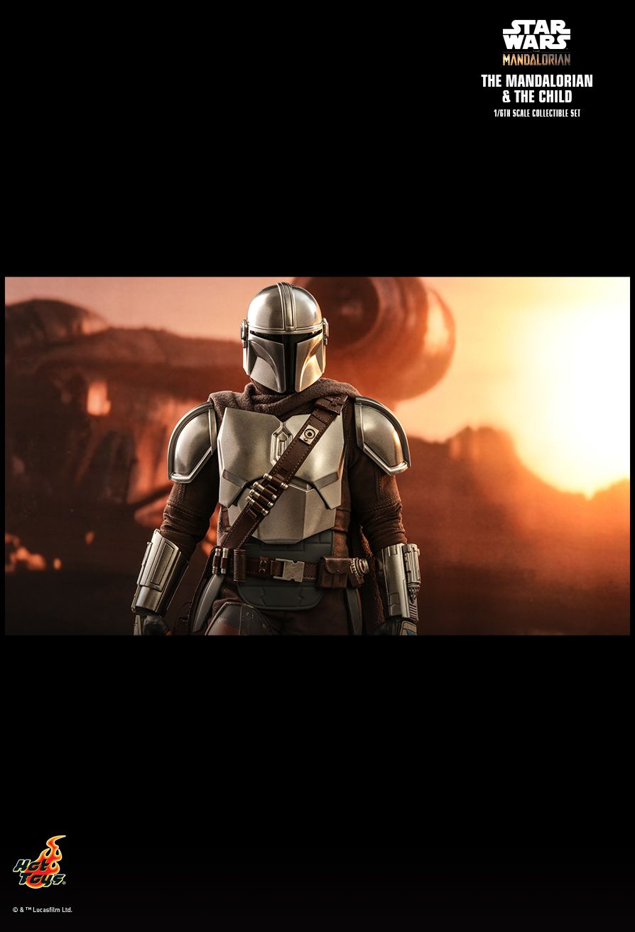Sci-Fi - NEW PRODUCT: HOT TOYS: THE MANDALORIAN THE MANDALORIAN AND THE CHILD 1/6TH SCALE COLLECTIBLE SET (Standard and Deluxe) 8504fd10