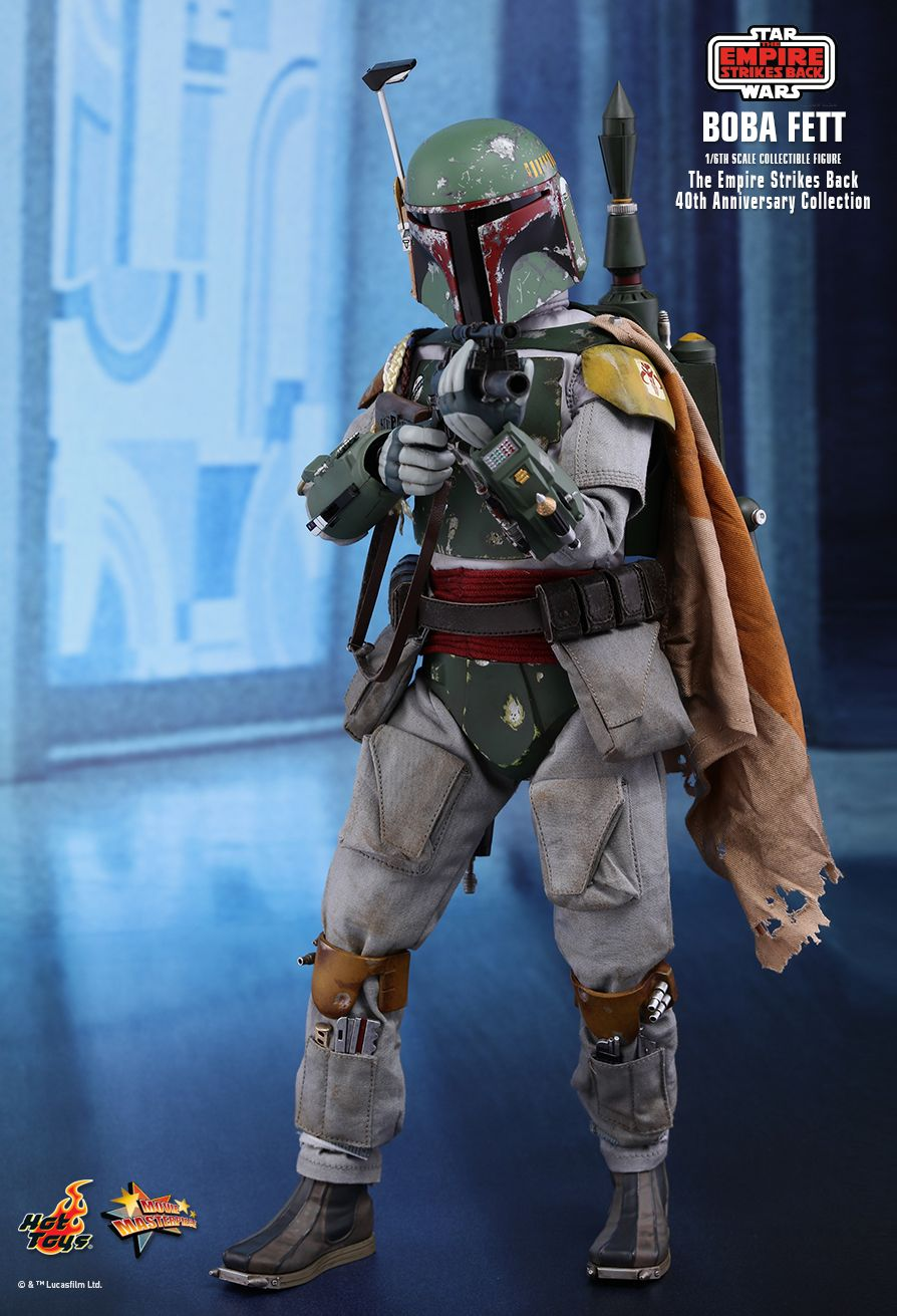 EmpireStrikesBack - NEW PRODUCT: HOT TOYS: STAR WARS: THE EMPIRE STRIKES BACK™ BOBA FETT™ (STAR WARS: THE EMPIRE STRIKES BACK 40TH ANNIVERSARY COLLECTION) 1/6TH SCALE COLLECTIBLE FIGURE 86ea0010
