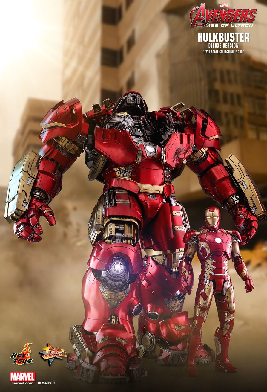 NEW PRODUCT: HOT TOYS: AVENGERS: AGE OF ULTRON HULKBUSTER (DELUXE VERSION) 1/6TH SCALE COLLECTIBLE FIGURE 872