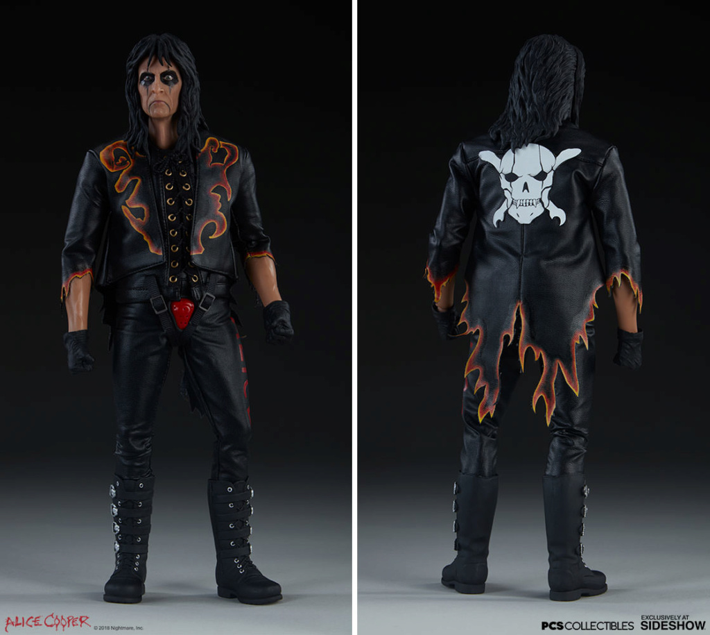 NEW PRODUCT: Alice Cooper Sixth Scale Figure by Pop Culture Shock 880