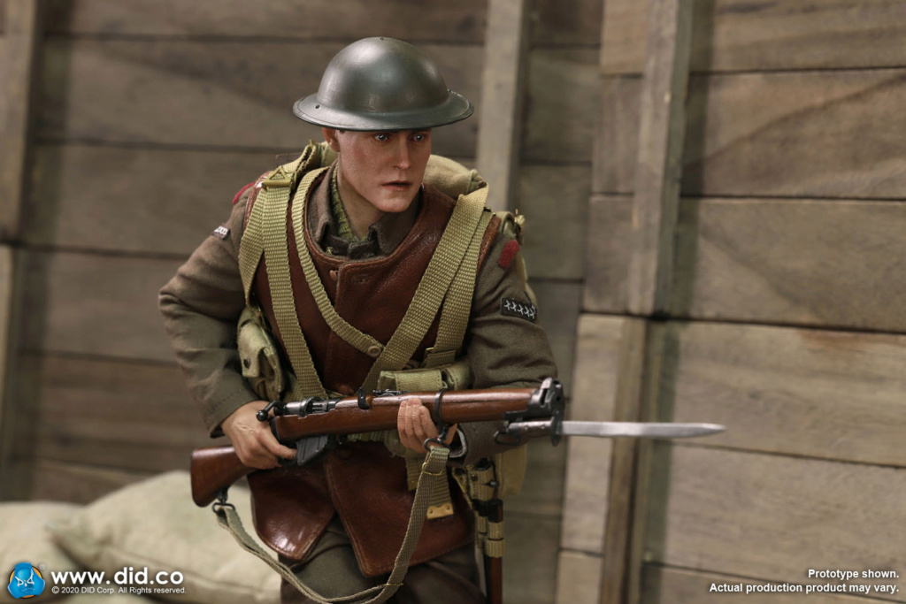 military - NEW PRODUCT: DiD: B11011 WWI British Infantry Lance Corporal William & Trench Diorama Set (UPDATED INFORMATION) 88d91710