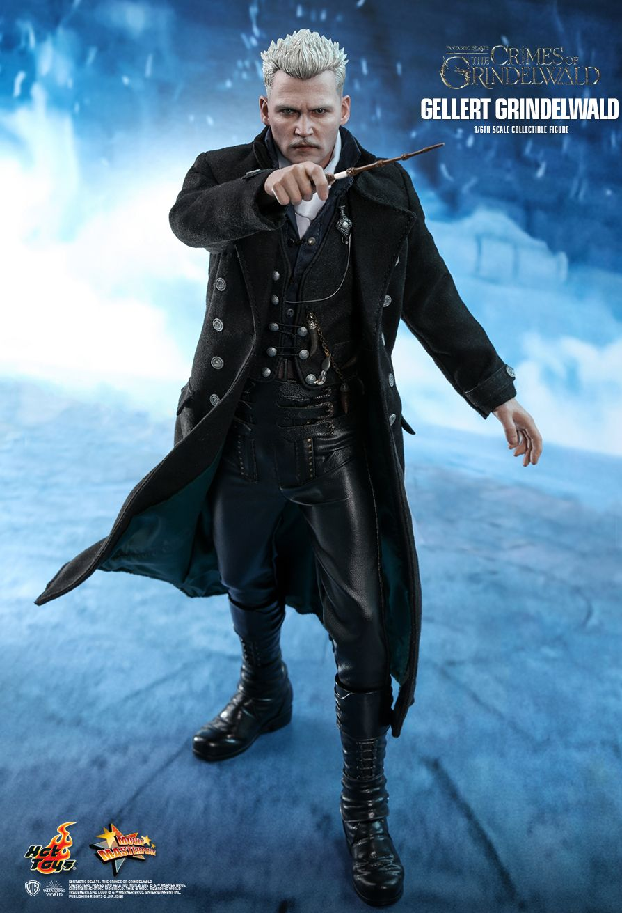 NEW PRODUCT: HOT TOYS: FANTASTIC BEASTS: THE CRIMES OF GRINDELWALD GELLERT GRINDELWALD 1/6TH SCALE COLLECTIBLE FIGURE 896