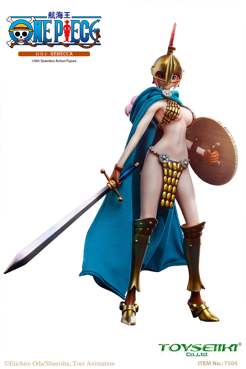 "One-Piece - NEW PRODUCT: TOYSEIIKI New product: 1/6 ""One Piece"" genuine license - Sword Fighter Rebecca (double head carved single body) 897"