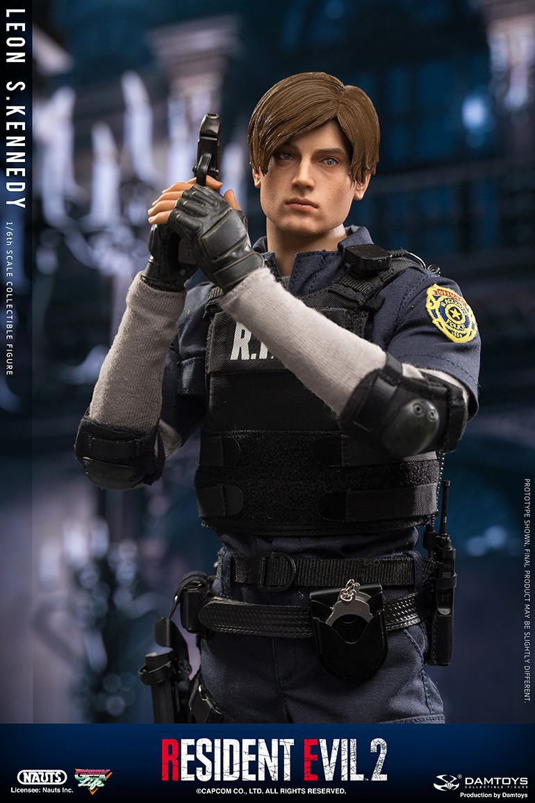 "Sci-Fi - NEW PRODUCT: NAUTS & DAMTOYS: 1/6 ""Resident Evil 2""-LEON S.KENNEDY/Lyon S. Kennedy remake #DMS030  8b0ae810"