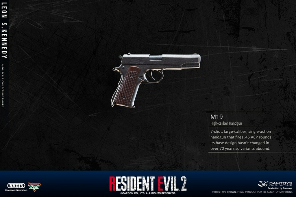 "Sci-Fi - NEW PRODUCT: NAUTS & DAMTOYS: 1/6 ""Resident Evil 2""-LEON S.KENNEDY/Lyon S. Kennedy remake #DMS030  8bd67510"