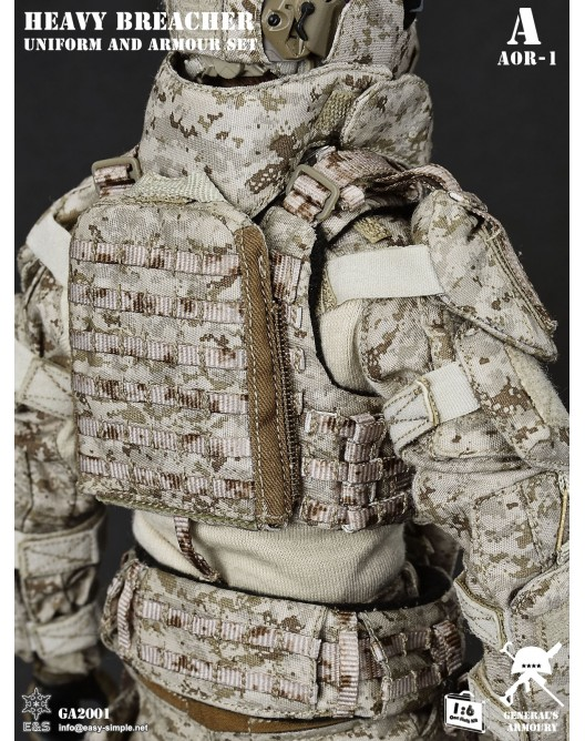 General - NEW PRODUCT: General's Armoury GA2001 1/6 Scale Heavy Breacher Uniform and Armour Set 9-528x11