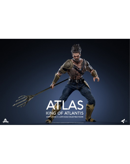NEW PRODUCT: Art Figure AI-005 1/6 Scale King of Atlantis ATLAS 9-528x20