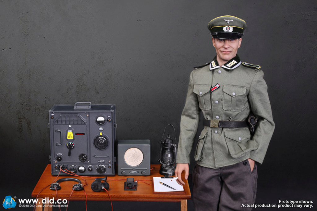 DiD - NEW PRODUCT: Gerd - WH Radio Operator - WWII German Communications Series 3 - DiD 1/6 Scale Figure 9105