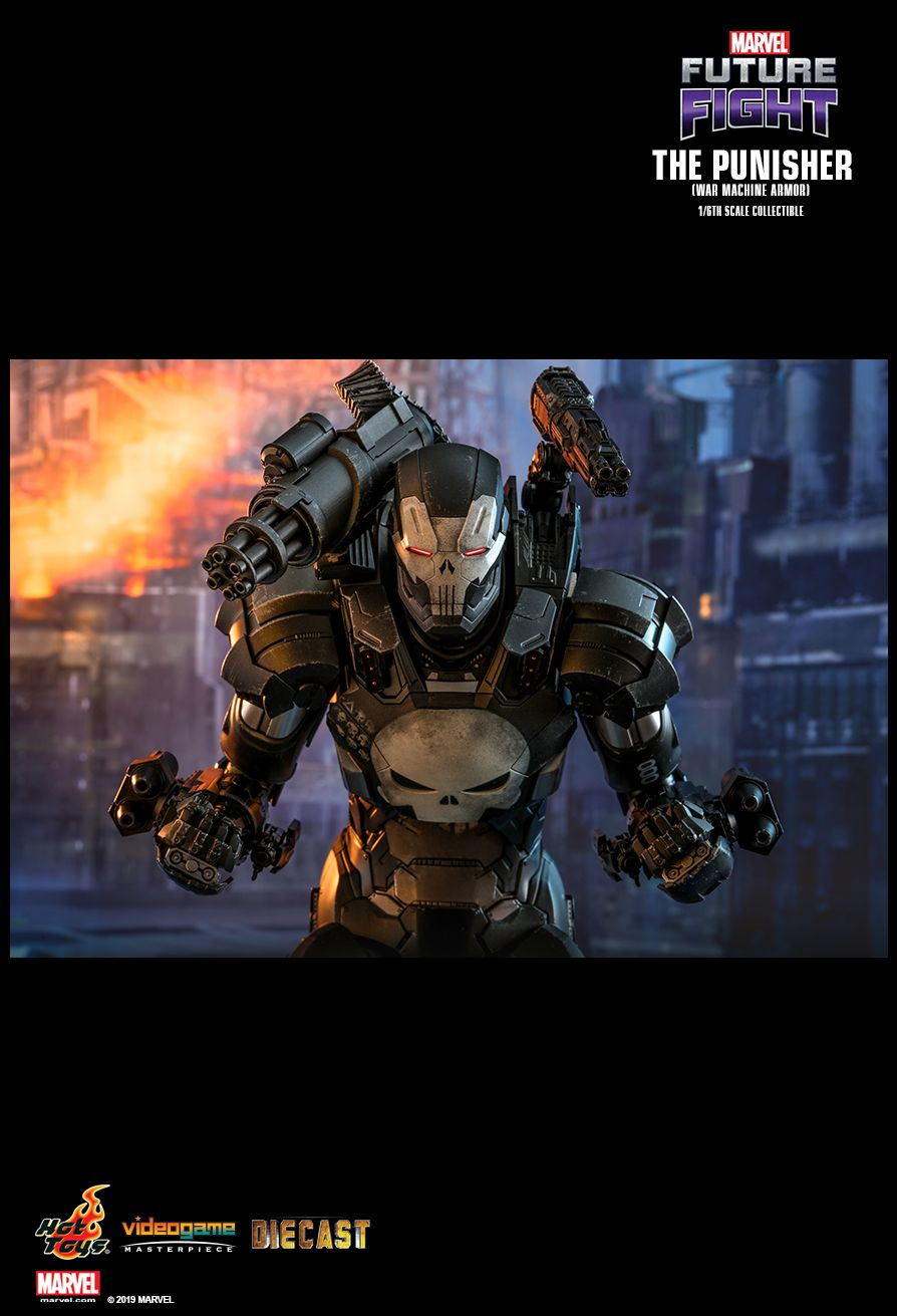 Videogame - NEW PRODUCT: HOT TOYS: MARVEL FUTURE FIGHT THE PUNISHER (WAR MACHINE ARMOR) 1/6TH SCALE COLLECTIBLE FIGURE 9119