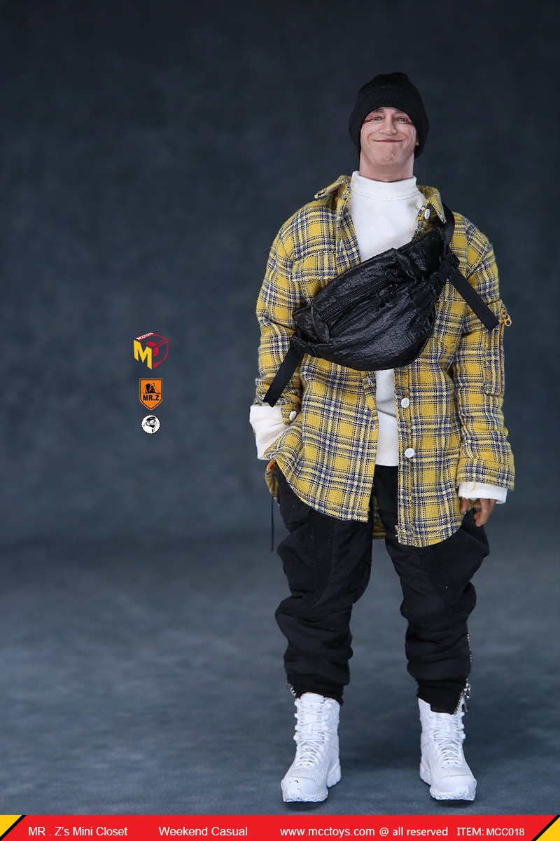 MCCTOys - NEW PRODUCT: MCCToys x Mr.Z: 1/6 Z's Mini Closet Series - Weekend Casual Set (MCC01#) 9124