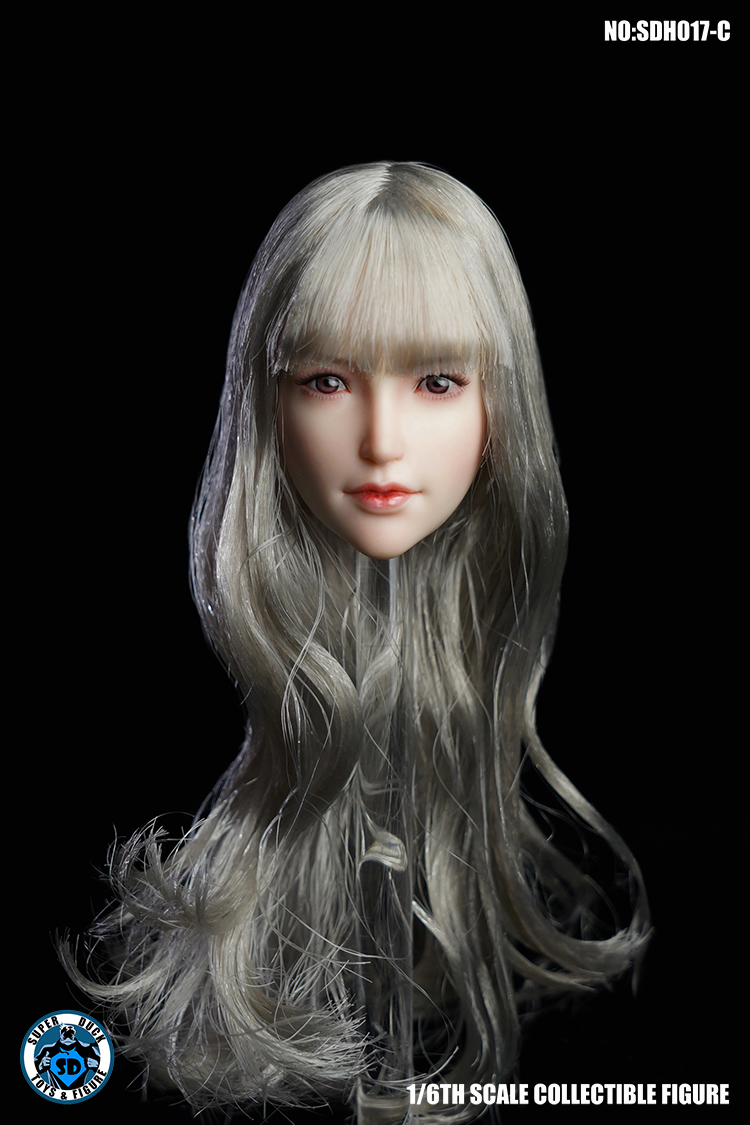 superduck - NEW PRODUCT: SUPER DUCK New product: 1/6 SDH017 Female head carving - ABC three models 9135