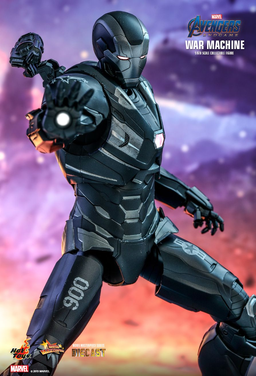 WarMachine - NEW PRODUCT: HOT TOYS: AVENGERS: ENDGAME WAR MACHINE 1/6TH SCALE COLLECTIBLE FIGURE 9157